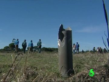 Búsqueda de pozos ilegales en Doñana
