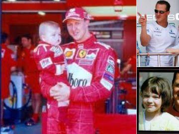 Las fotos que denuncia el hijo de Schumacher
