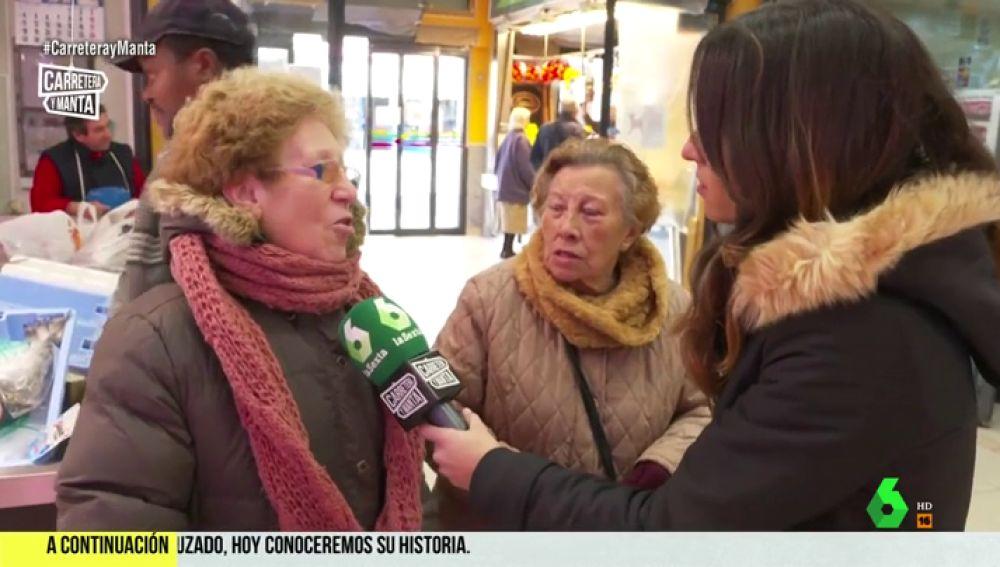 Mujeres en el mercado