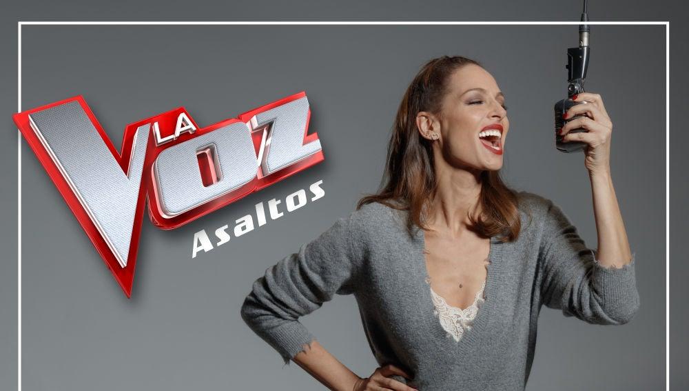 Eva González nos explica la novedosa dinámica de 'La Voz'