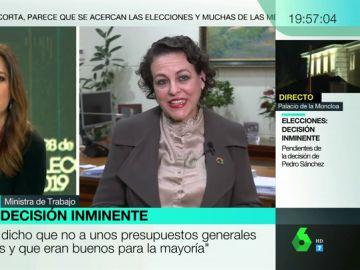 """Magdalena Valerio: """"Sánchez es una persona seria y coherente, pedirá al Consejo de Ministros lo mejor para España"""""""