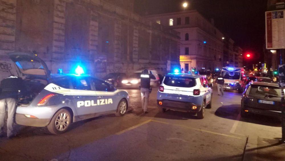 Reyerta en Roma entre hinchas de Lazio y Sevilla: 4 apuñalados