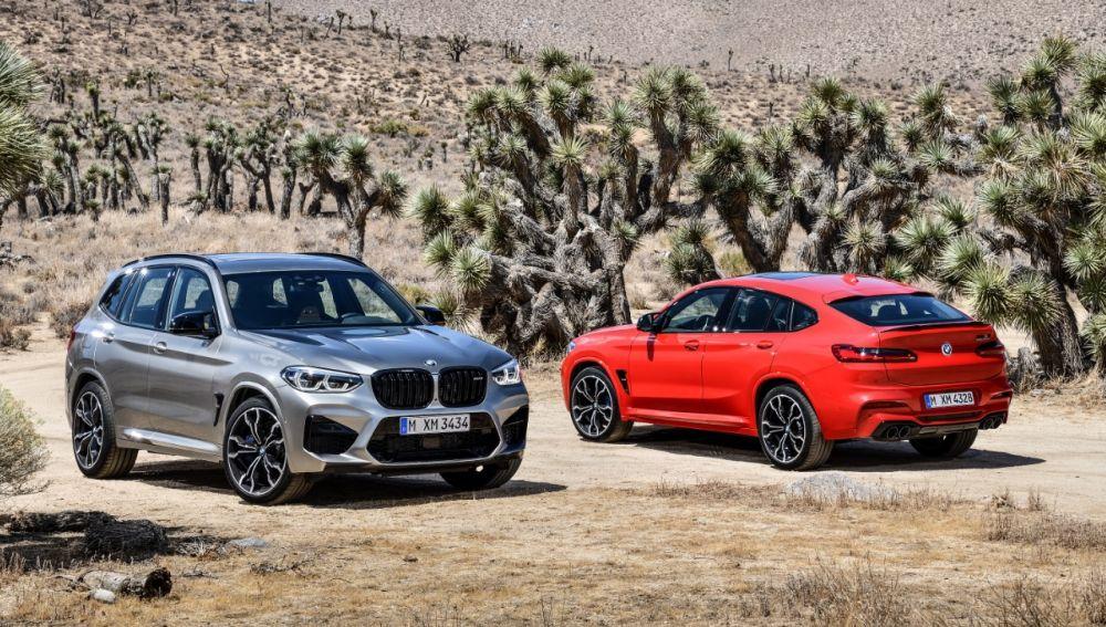 Los nuevos BMW X3 M y X4 M