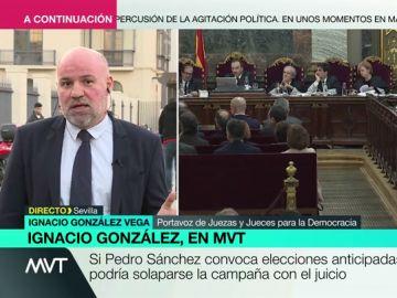 """Ignacio González, sobre que Vox participe en el juicio del 'procés': """"Es una anomalía jurídica que puedan usar la acusación popular como tribuna política"""""""