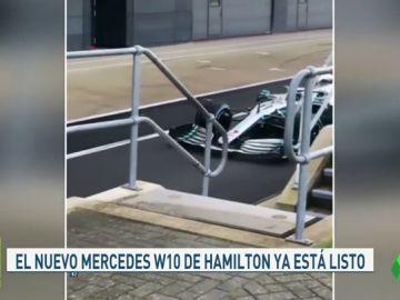 Mercedes presenta el W10, el monoplaza con el que aspira a revalidar su corona en la F1