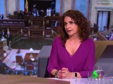 """La ministra Montero, tras las enmiendas a los PGE: """"Si unos Presupuestos son buenos, ¿por qué nadie se preocupa de la vida de los ciudadanos?"""""""