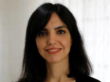 La iraní Azam Jangravi