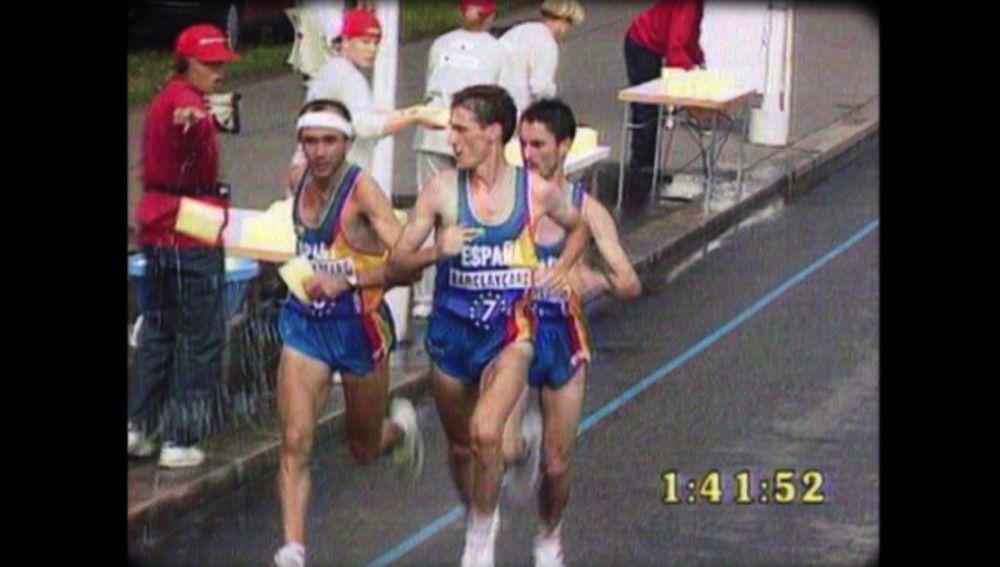 El triplete histórico de España en atletismo