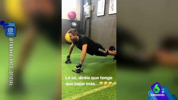 """Los zapeadores se burlan de Frank Blanco por su su forma física: """"Cuando abandones el gimnasio en un mes podrás usar esos guantes para conducir"""""""