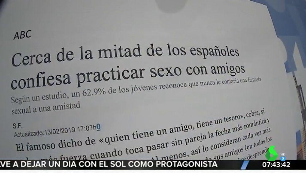 ¿Amigos con derecho? Así son las fantasías sexuales de los españoles que más sorprenden