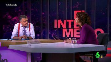 """La entrevista completa de la ministra Montero en El Intermedio: """"No sé en qué momento Ciudadanos empezó a pensar que el PSOE es el enemigo a batir"""""""