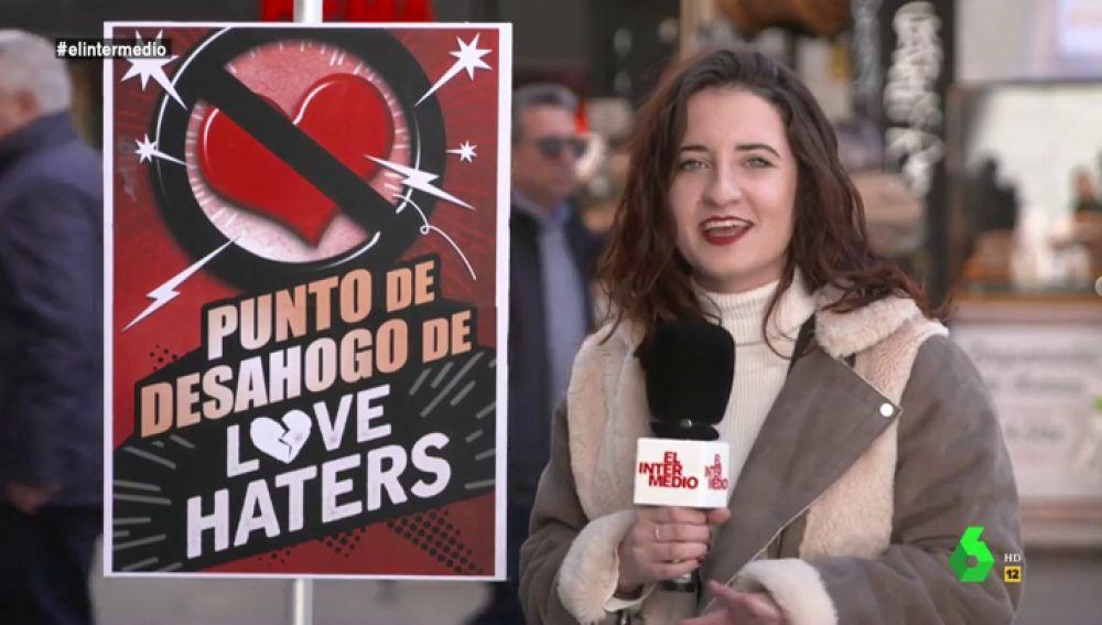 """El Intermedio sale a la calle para conocer qué piensan los 'love haters': """"Le pido a mi familia que deje de poner velas a la virgen, que estoy mejor sola"""""""