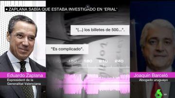 Conversaciones entre Eduardo Zaplana y Joaquín Barceló