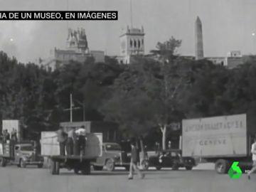 Traslado de las obras del Museo del Prado