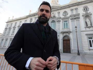 Roger Torrent en el Tribunal Supremo