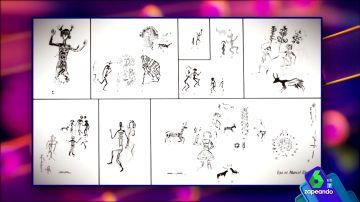 ¿Arte rupestre o dibujos de un niño pequeño?: desvelan el misterio de las pinturas de la Sierra de Algodonales, en Cádiz