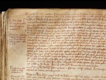 El texto encontrado por los investigadores de la Universidad de York