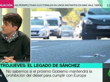 """Jorge Morales: """"No va a hacer falta prohibir los vehículos diésel porque en 2040 ya no existirán en los concesionarios"""""""