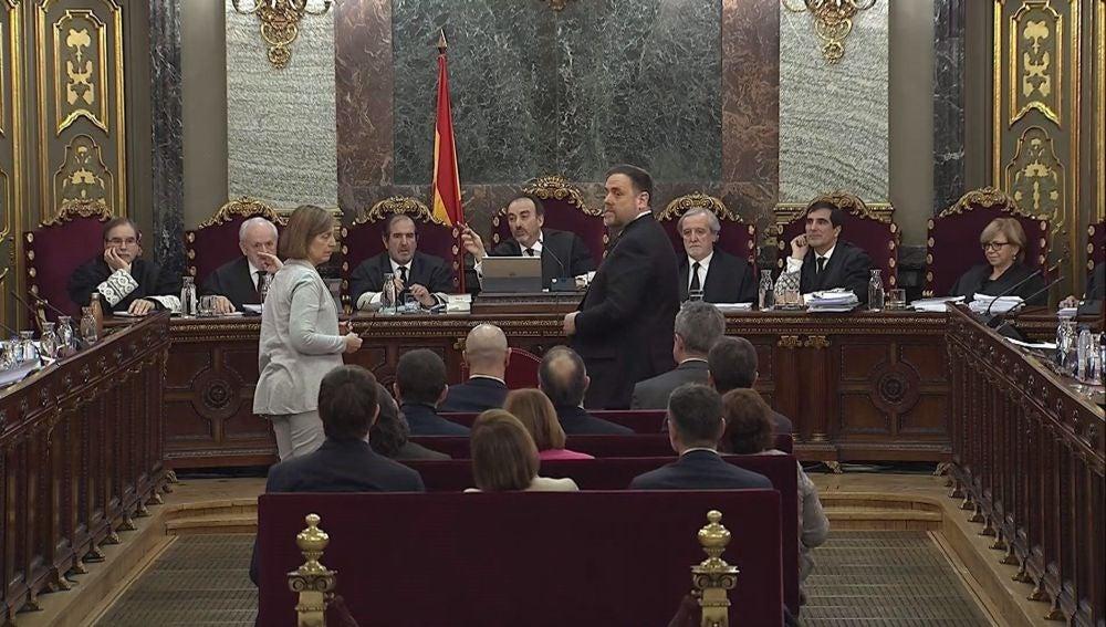 Oriol Junqueras, en el juicio del 'procés'
