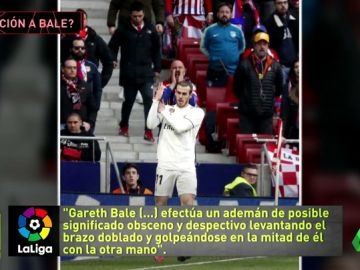 Bale se enfrenta a una sanción de 12 partidos