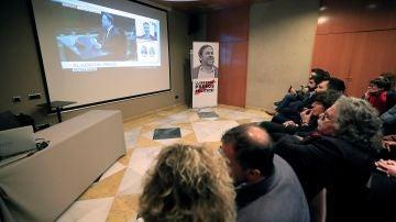 Miembros de ERC siguiendo la declaración de Oriol Junqueras