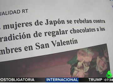 Las mujeres de Japón se rebelan contra esta machista tradición en San Valetín