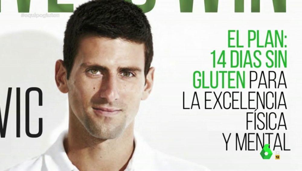 Djokovic, el tenista que desató el fenómeno sin gluten