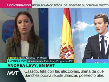 Andrea Levy en Más Vale Tarde
