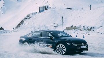 Curso de conducción en nieve 4Motion