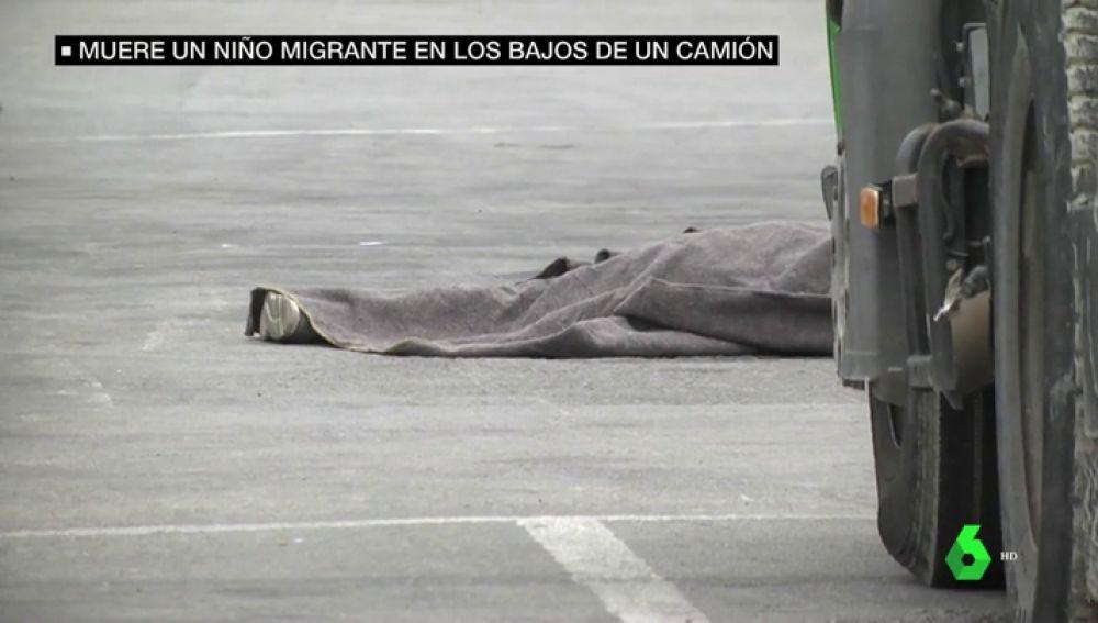 Tragedia en Ceuta: muere un niño aplastado por un camión en los muelles del puerto