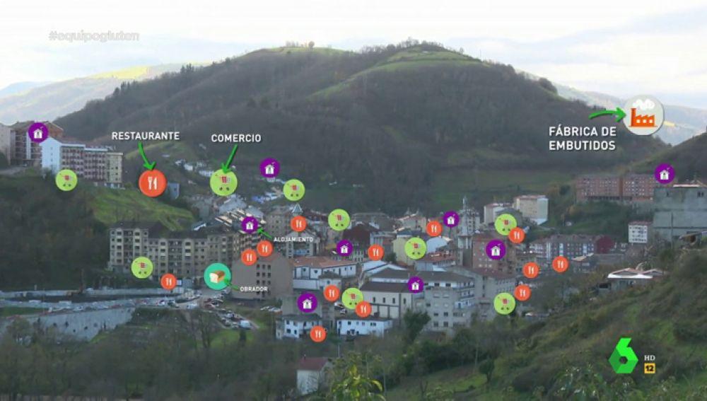 Así es Cangas de Narcea, el primer destino turístico sin gluten