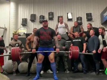 'La montaña de Juego de Tronos' y su última 'animalada': levanta una pesa de 500kg