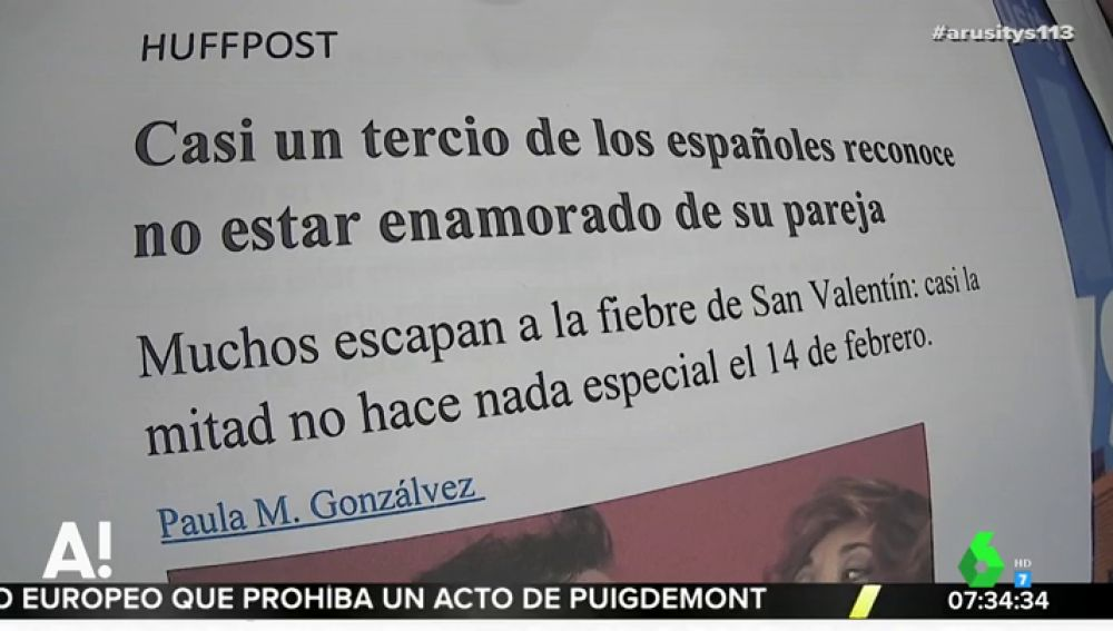 Un Tercio De Los Españoles Reconoce No Estar Enamorado De Su Pareja