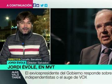 Jordi Évole en Más Vale Tarde