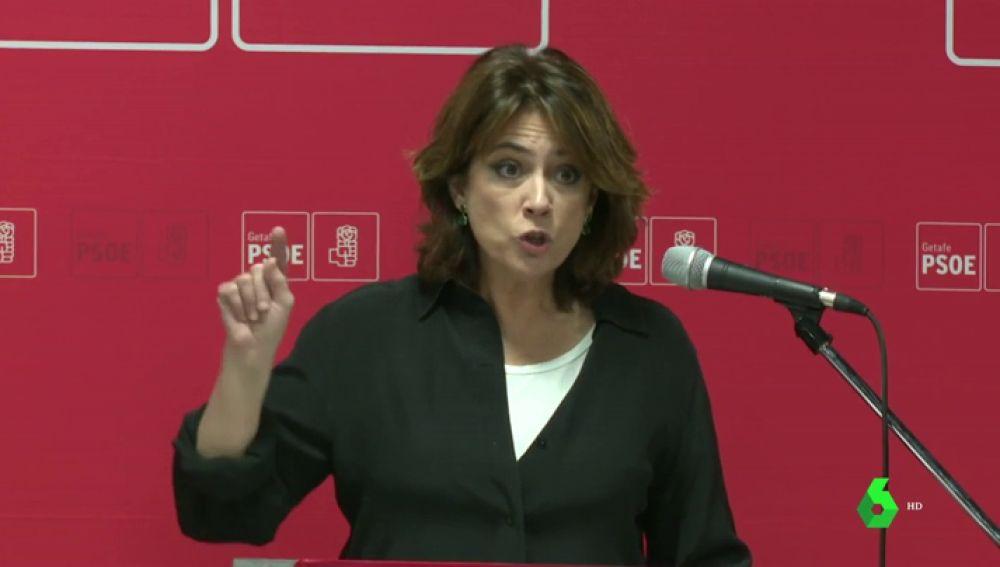 """Dolores Delgado: """"Muchos de los que están en las cunetas hoy serían héroes constitucionales"""""""