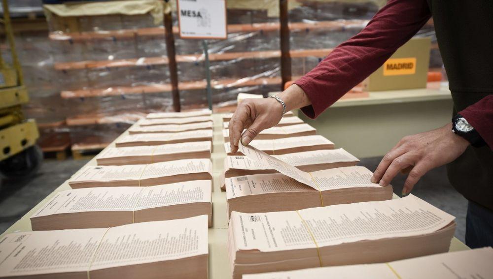 Preparativos para las elecciones