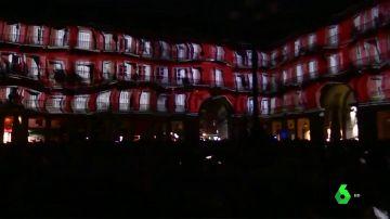 La Plaza Mayor de Madrid celebra sus 400 años con una espectacular proyección