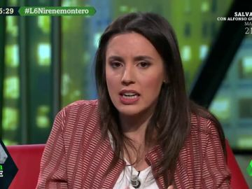 """Irene Montero: """"Nosotros estamos radicalmente en contra de la independencia de Cataluña"""""""