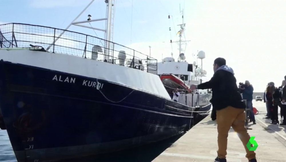 El barco de rescate 'Alan Kurdi' zarpa de Mallorca al Mediterráneo