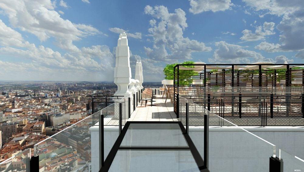 Azotea Edificio España, Madrid