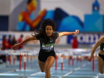 La atleta barcelonesa María Vicente