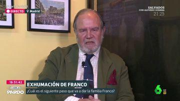"""La Fundación Franco: """"Los que quieren que Franco vaya a El Pardo son los bares, se forrarían"""""""