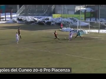 ¡Escandaloso! Un partido de la Serie C en Italia acaba con un 20-0