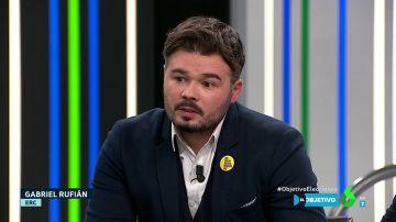 """Gabriel Rufián: """"A partir de ahora nos jugamos democracia u otra cosa parecida al fascismo"""""""
