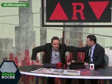 """Raúl Pérez se mete en la piel de Ferreras: """"Muevo tanto las manos que me han convalidado un máster en lengua de signos"""""""