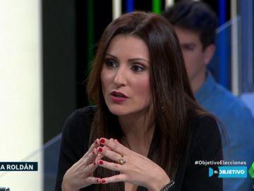Lorena Roldán, diputada de Ciudadanos en el Parlament