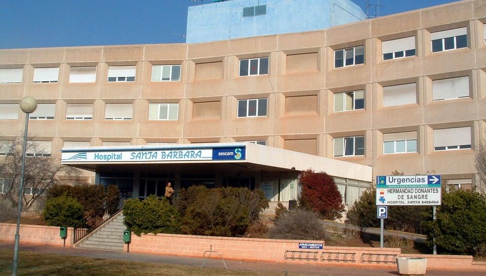 Hospital Santa Bárbara, en Puertollano