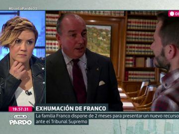 """El abogado de la familia Franco: """"Si un Gobierno tiene voluntad de reconciliación tendría que haber pensado en enterrar en el Valle de los Caídos a Manuel Azaña"""""""