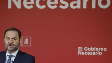 El secretario de Área del PSOE y ministro de Fomento, José Luis Ábalos