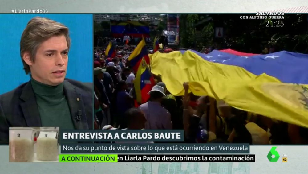 """Carlos Baute: """"Llevo muchos años tratando de no madurar y ahora más que nunca, no 'Maduro'"""""""